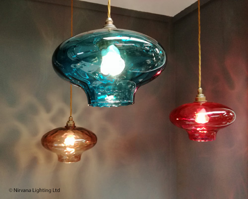 Fortune coloured glass cluster pendant lights nirvana lighting pendant lighting contemporary lighting 250 500 decorative fortune coloured glass mozeypictures Image collections